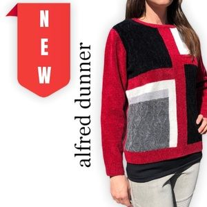 Alfred Dunner- Petite Pullover Sweater